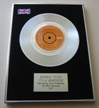 BONNIE TYLER - IT'S A HEARTACHE PLATINUM Single Presentation DISC